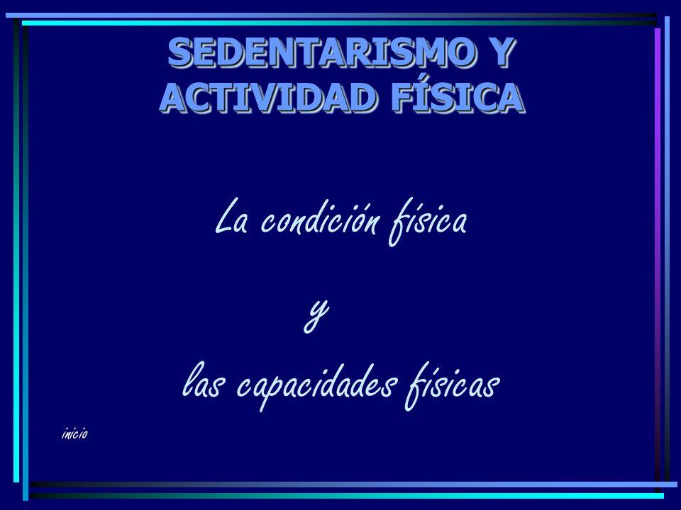SEDENTARISMO Y ACTIVIDAD FÍSICA