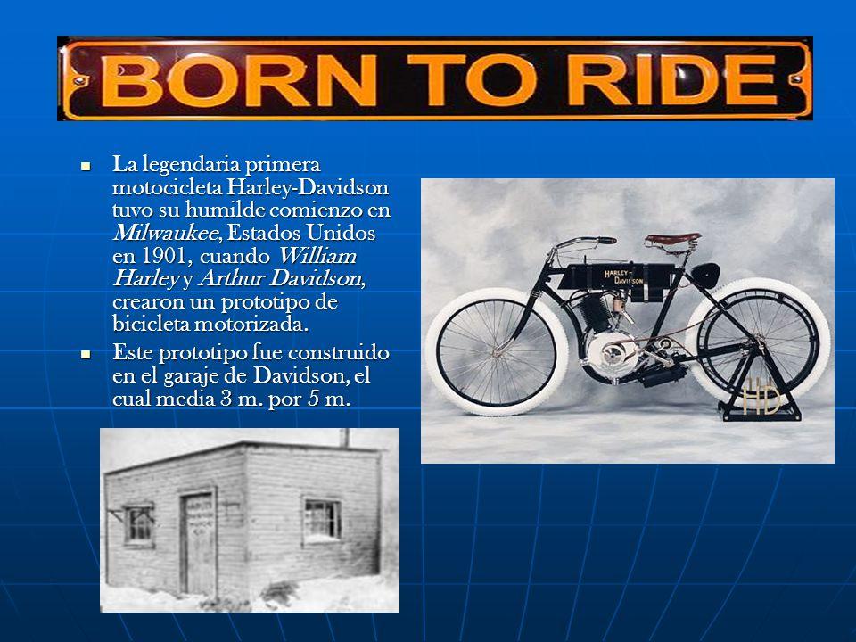 La legendaria primera motocicleta Harley-Davidson tuvo su humilde comienzo en Milwaukee, Estados Unidos en 1901, cuando William Harley y Arthur Davidson, crearon un prototipo de bicicleta motorizada.