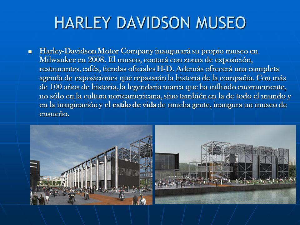 HARLEY DAVIDSON MUSEO