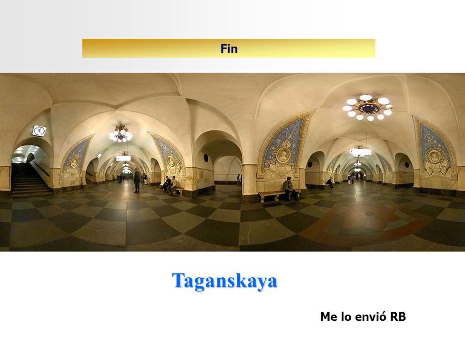 Fin Taganskaya Me lo envió RB