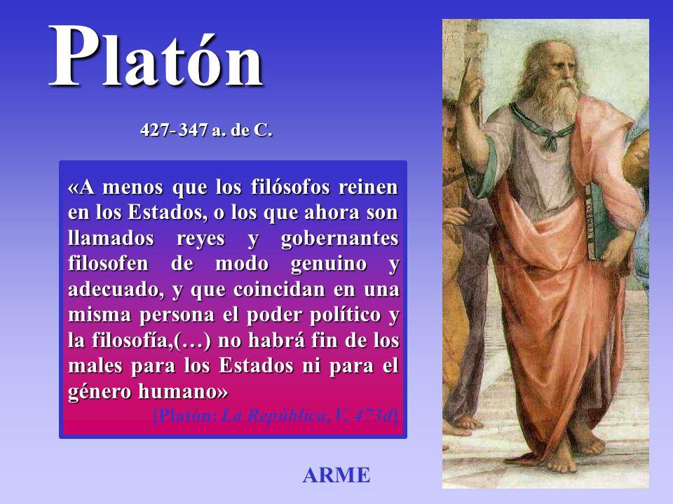 Platón 427- 347 a. de C.