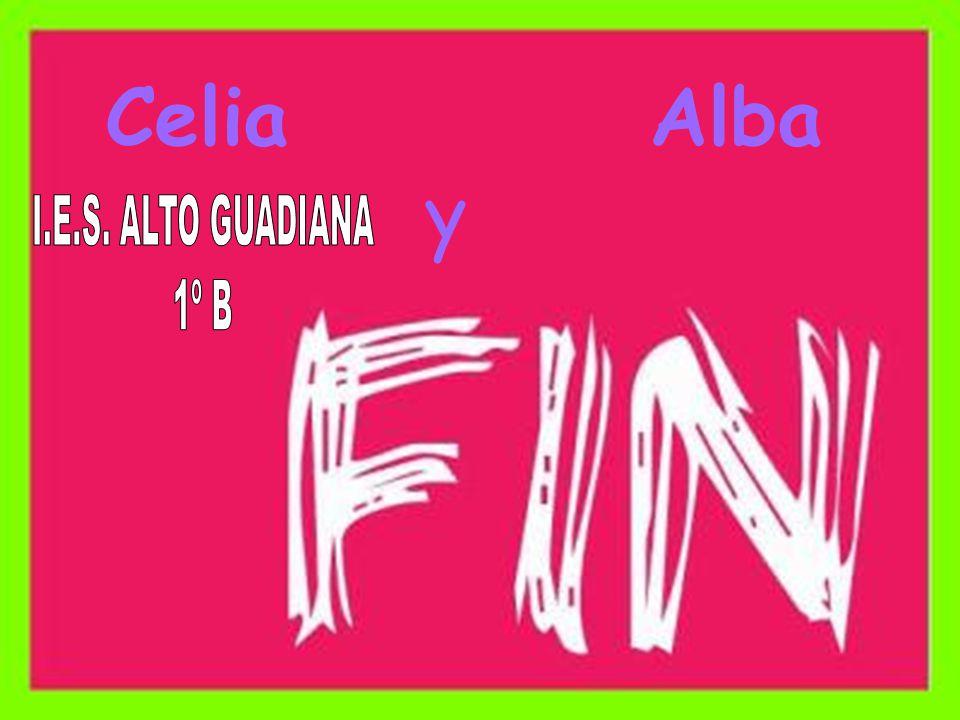 Celia Alba y I.E.S. ALTO GUADIANA 1º B