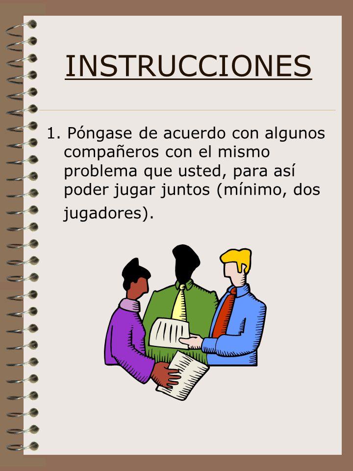 INSTRUCCIONES 1.