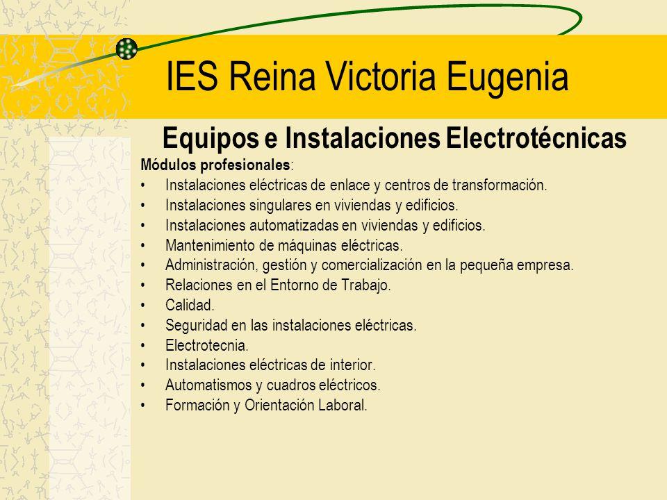 IES Reina Victoria Eugenia