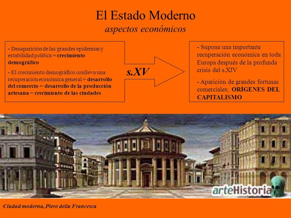 El Estado Moderno aspectos económicos