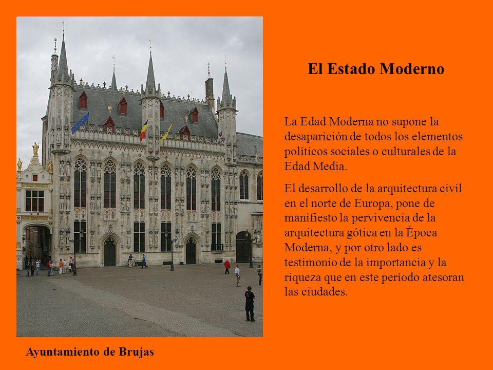 El Estado Moderno La Edad Moderna no supone la desaparición de todos los elementos políticos sociales o culturales de la Edad Media.