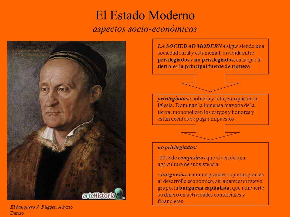 El Estado Moderno aspectos socio-económicos