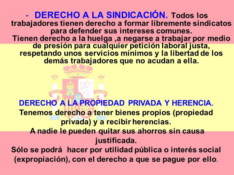 DERECHO A LA SINDICACIÓN
