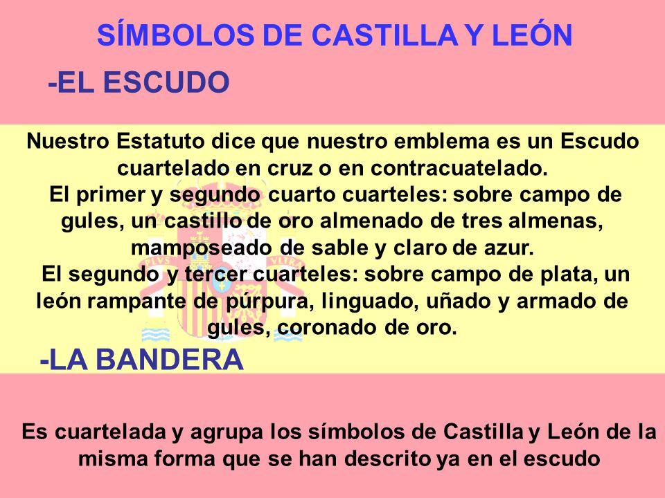 SÍMBOLOS DE CASTILLA Y LEÓN