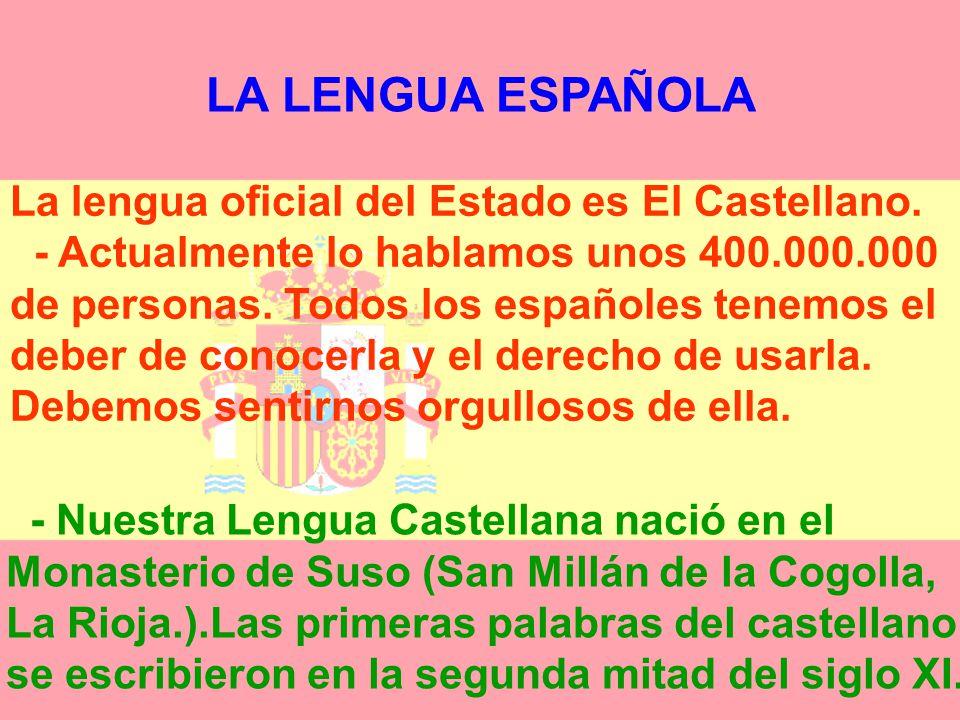 LA LENGUA ESPAÑOLA