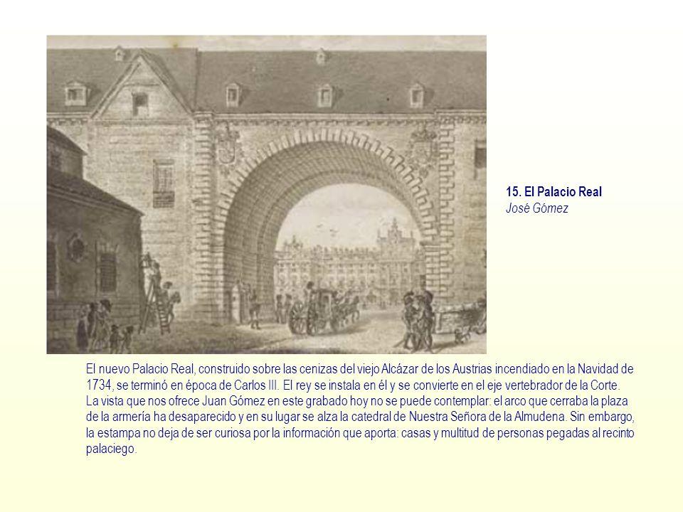 15. El Palacio Real José Gómez.