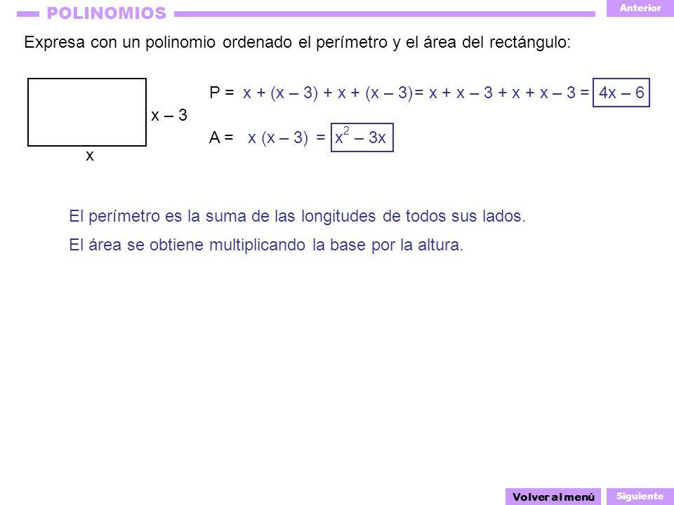 El perímetro es la suma de las longitudes de todos sus lados.