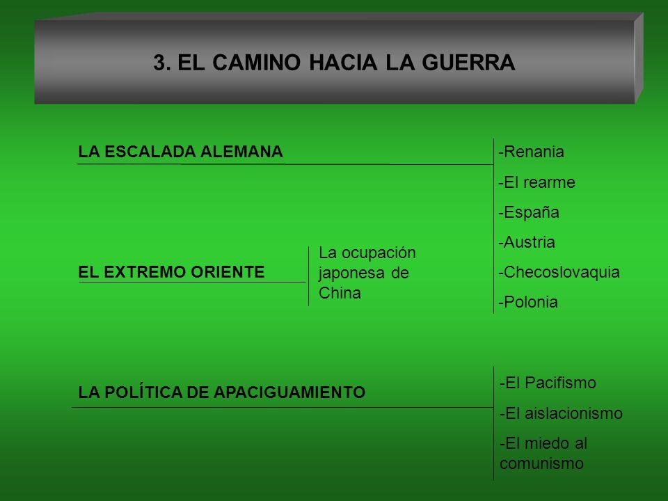 3. EL CAMINO HACIA LA GUERRA