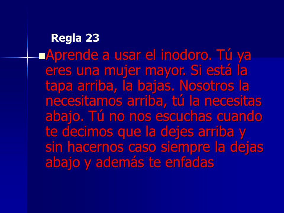 Regla 23