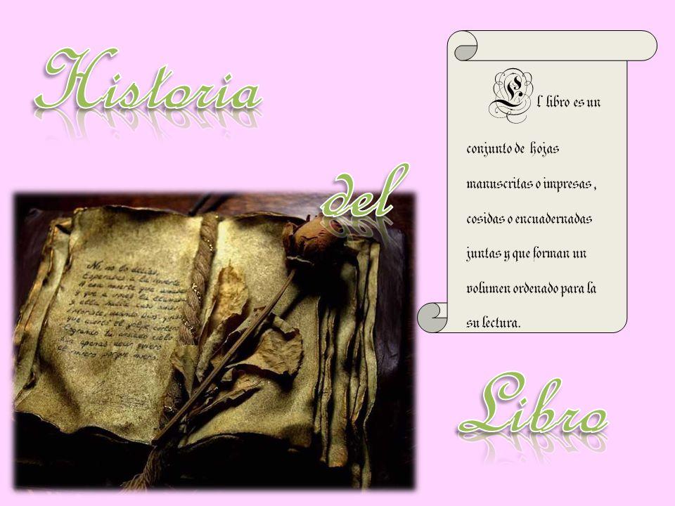 Historia del. Libro.