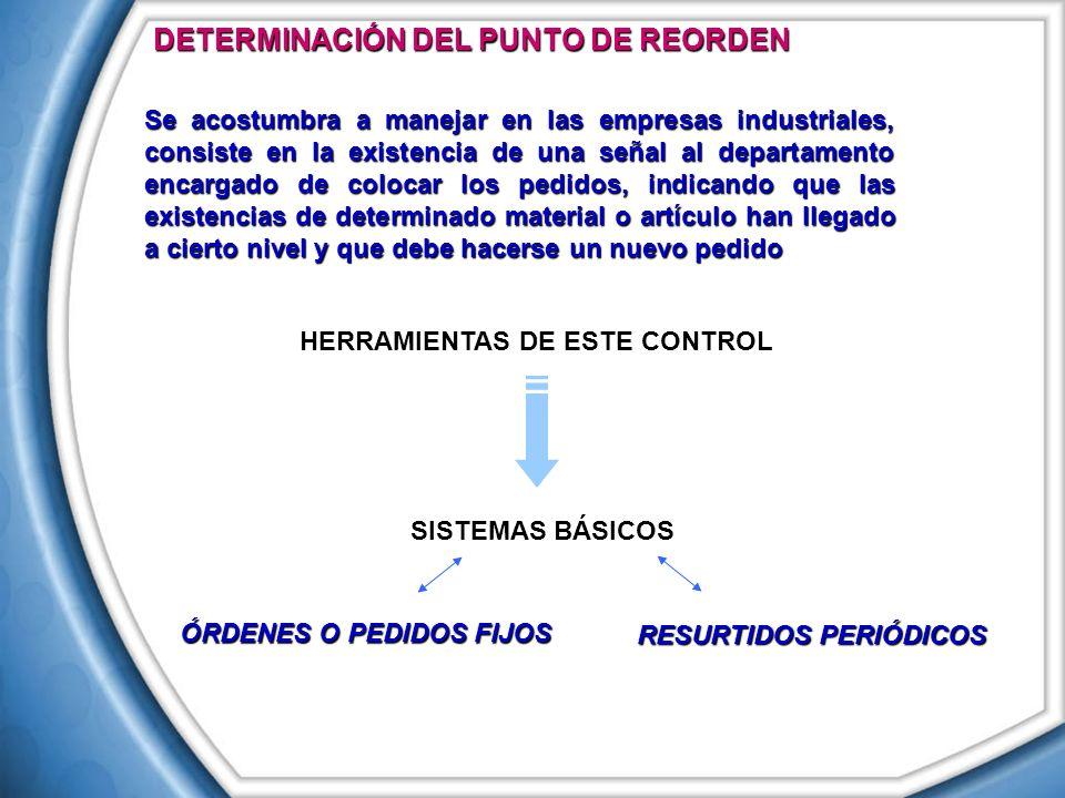 HERRAMIENTAS DE ESTE CONTROL