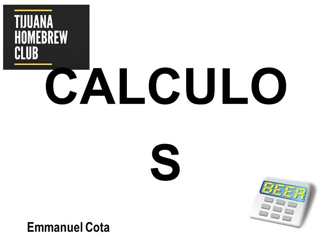 CALCULOS Emmanuel Cota