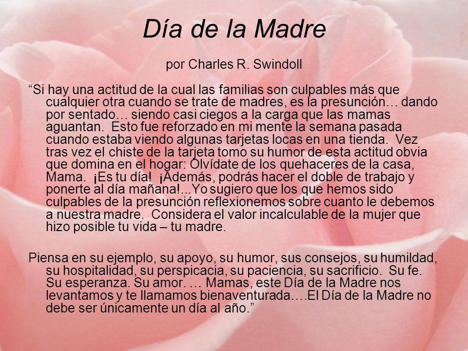Día de la Madre por Charles R. Swindoll