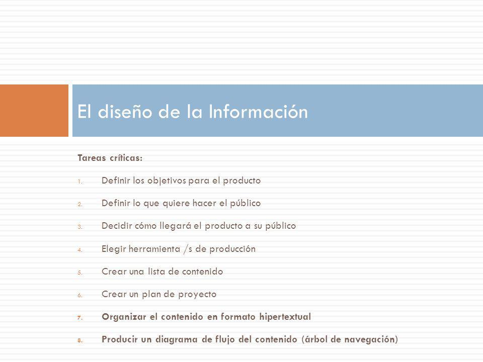 El diseño de la Información