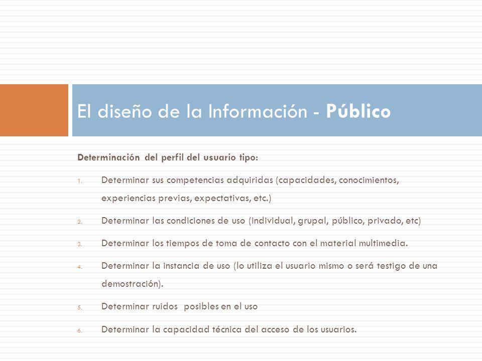 El diseño de la Información - Público