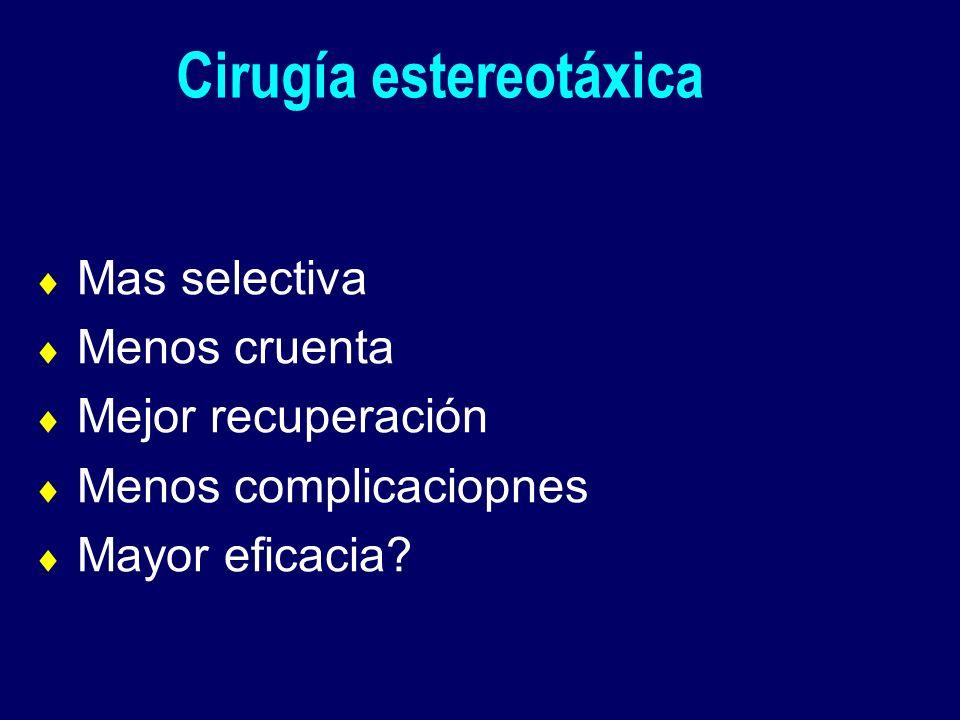Cirugía estereotáxica