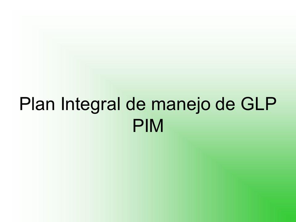 Plan Integral de manejo de GLP PIM