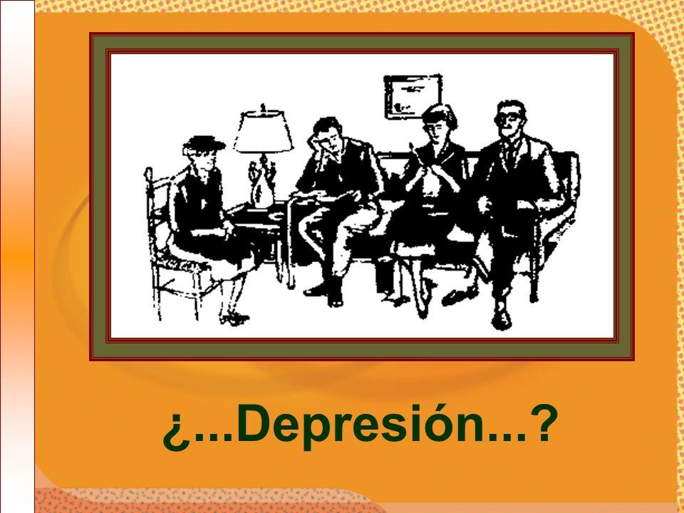 ¿...Depresión...