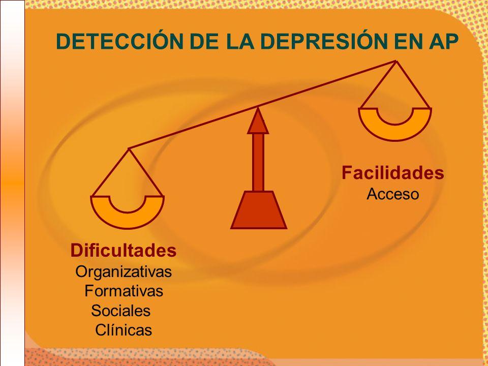 DETECCIÓN DE LA DEPRESIÓN EN AP