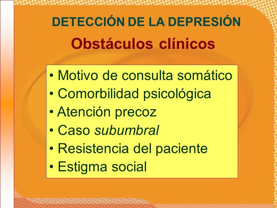 DETECCIÓN DE LA DEPRESIÓN