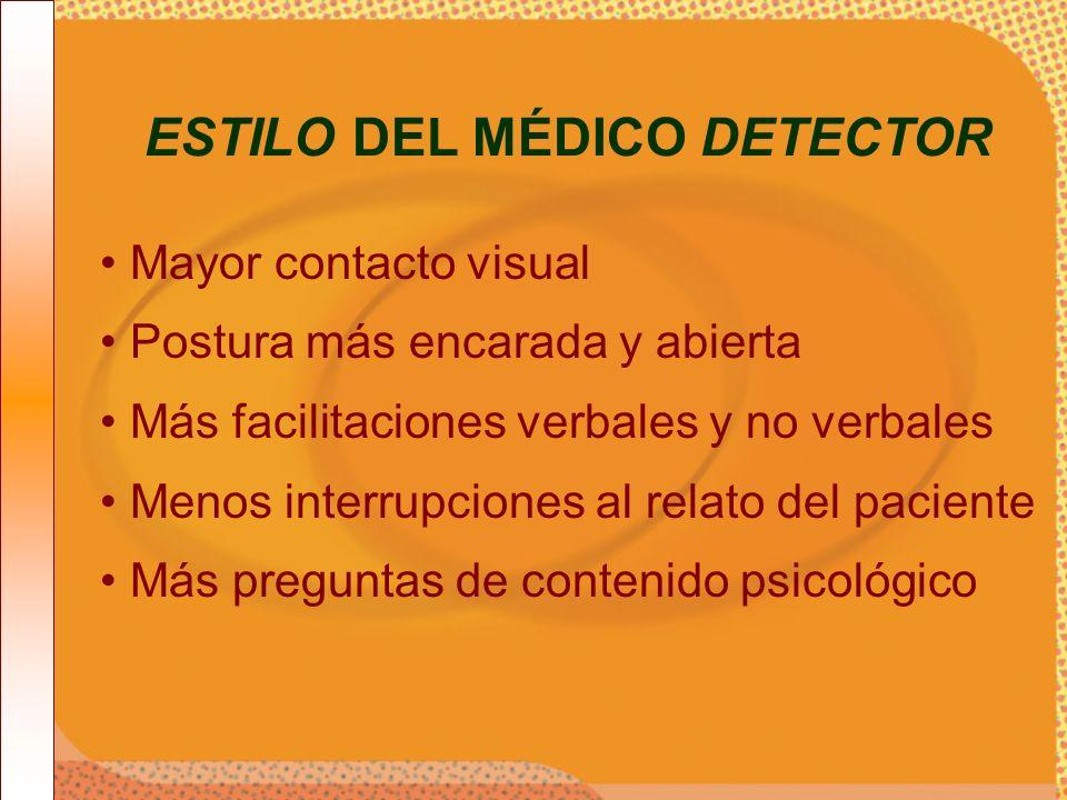 ESTILO DEL MÉDICO DETECTOR