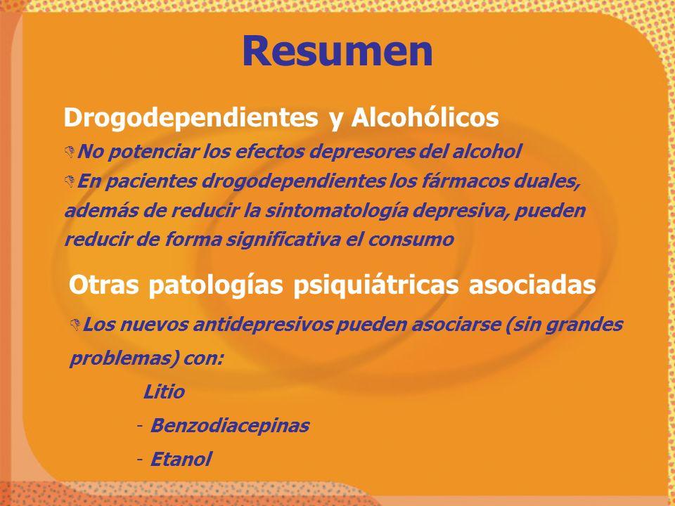 Resumen Drogodependientes y Alcohólicos