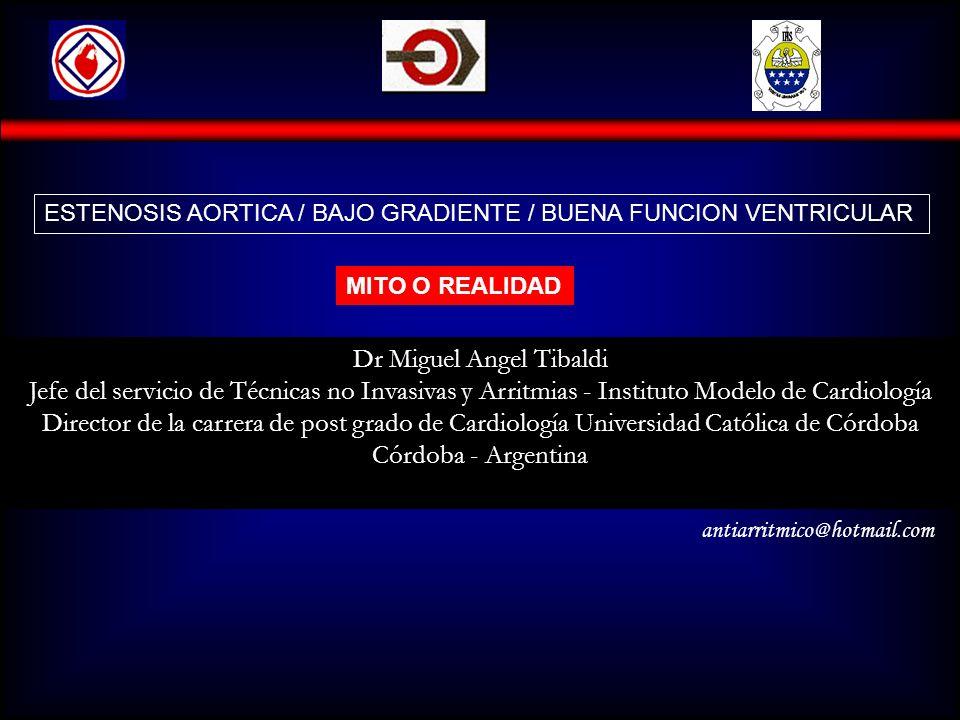 Dr Miguel Angel Tibaldi