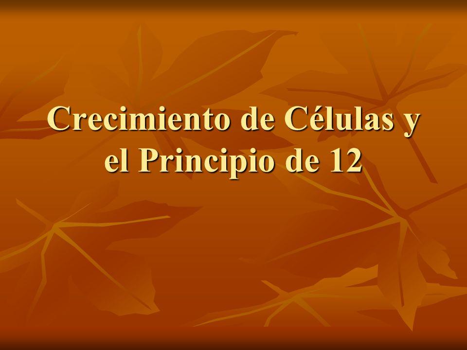 Crecimiento de Células y el Principio de 12