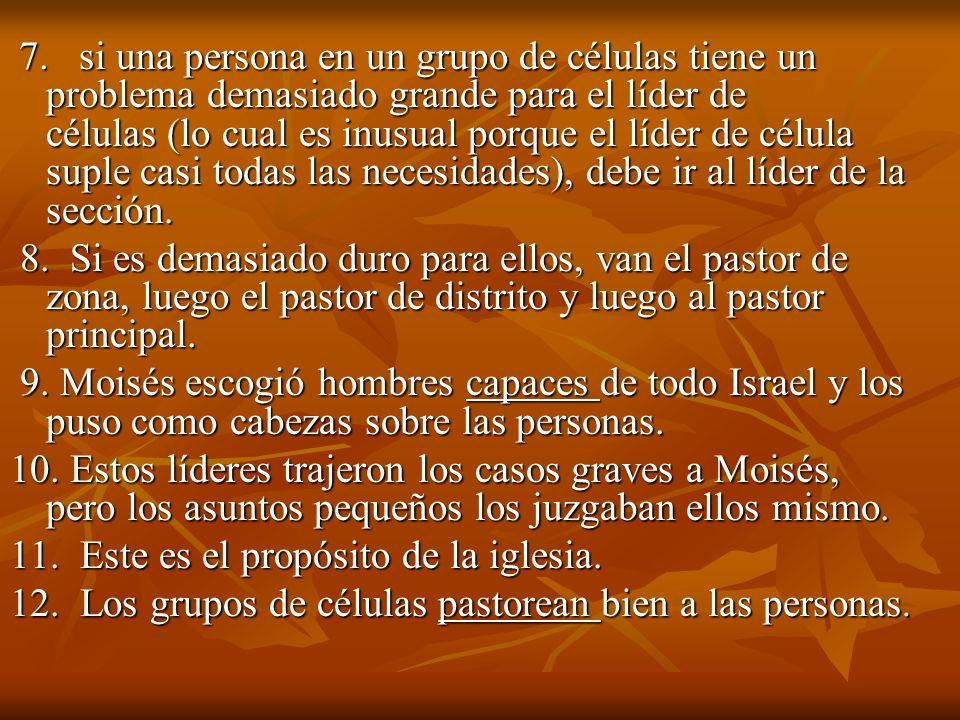 11. Este es el propósito de la iglesia.