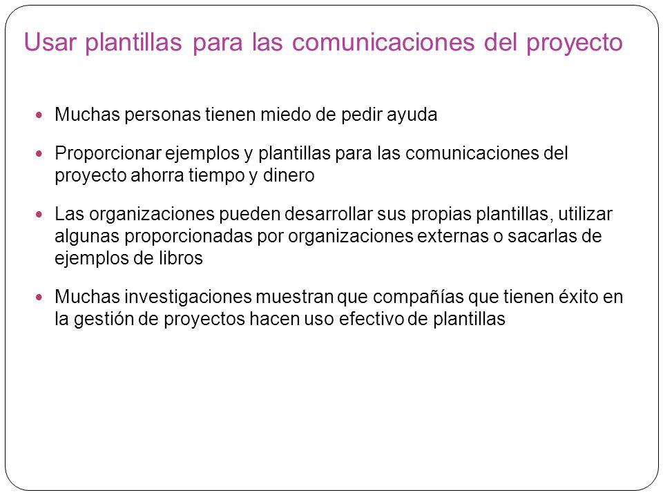 Gestión de las Comunicaciones del Proyecto - ppt video online ...