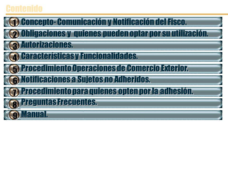 Contenido Concepto- Comunicación y Notificación del Fisco. 1
