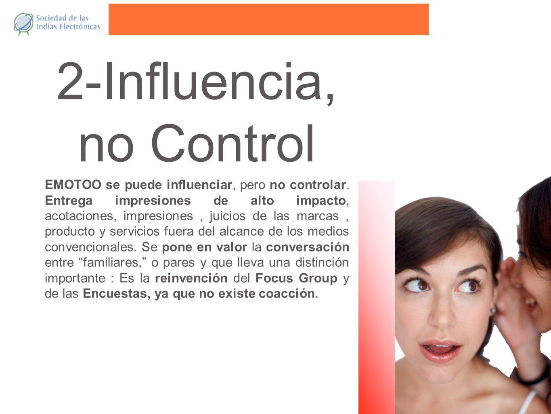 2-Influencia, no Control