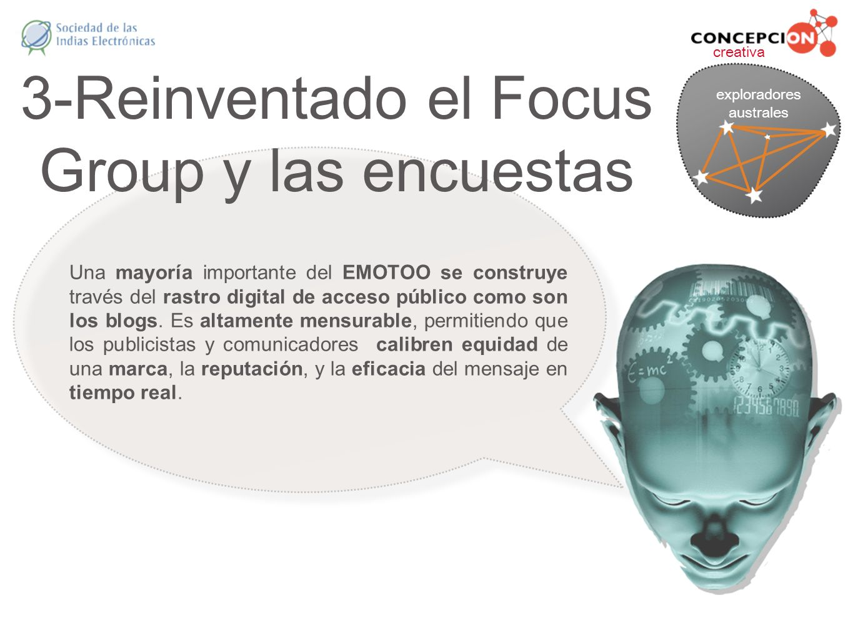 3-Reinventado el Focus Group y las encuestas