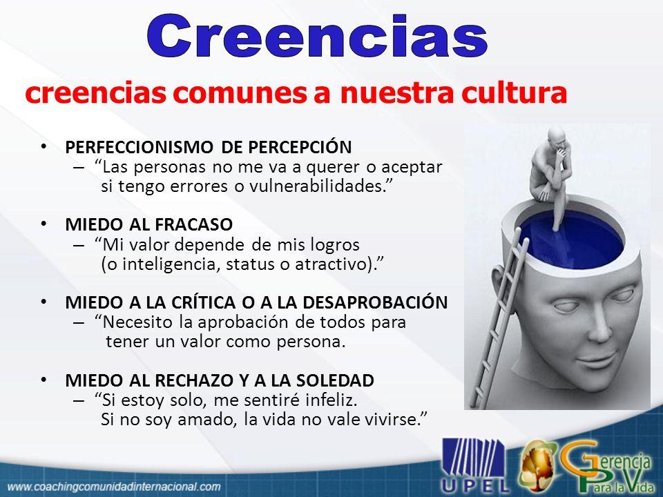 creencias comunes a nuestra cultura