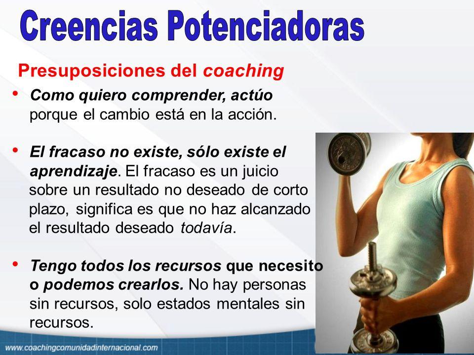 Presuposiciones del coaching