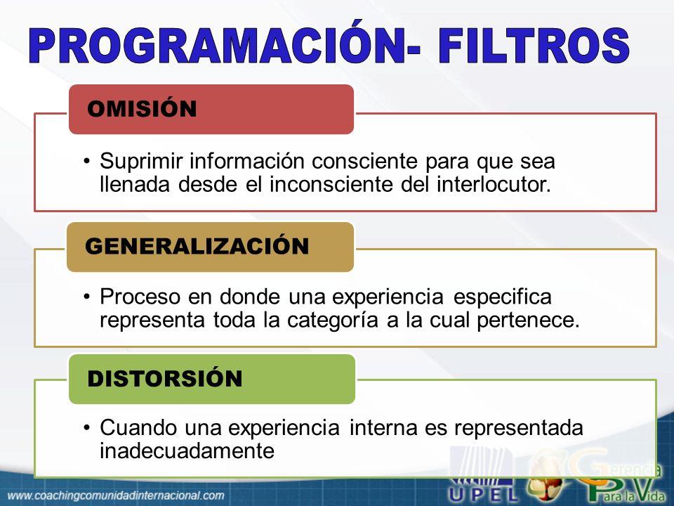 PROGRAMACIÓN- FILTROS