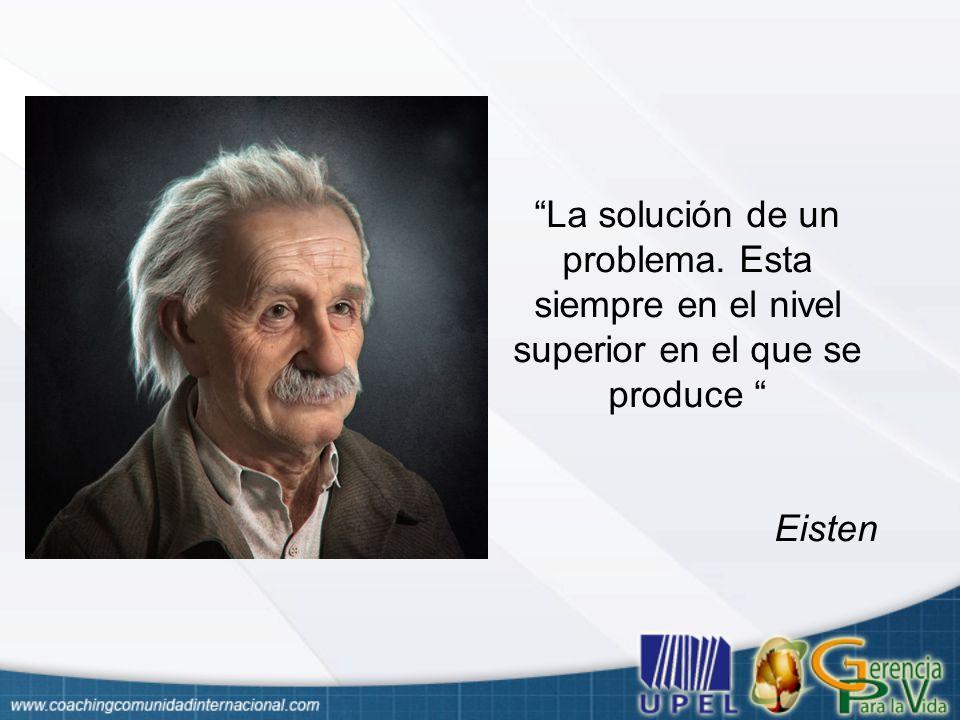 La solución de un problema