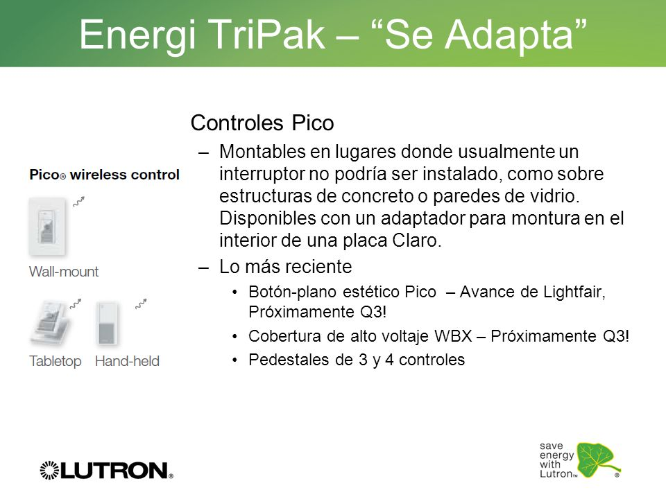 Energi TriPak – Se Adapta