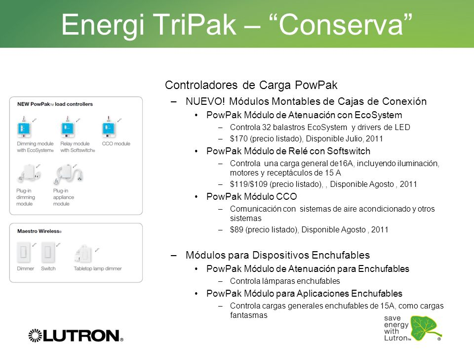 Energi TriPak – Conserva