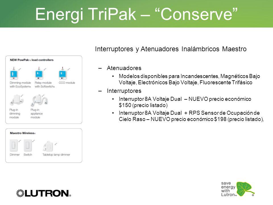 Energi TriPak – Conserve
