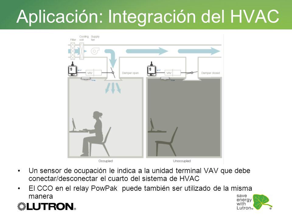 Aplicación: Integración del HVAC