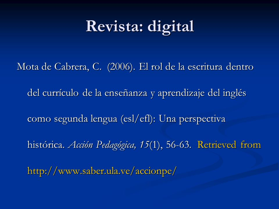 Revista: digital