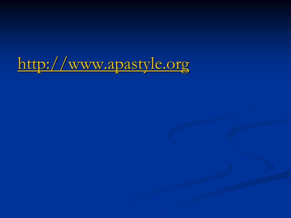 http://www.apastyle.org