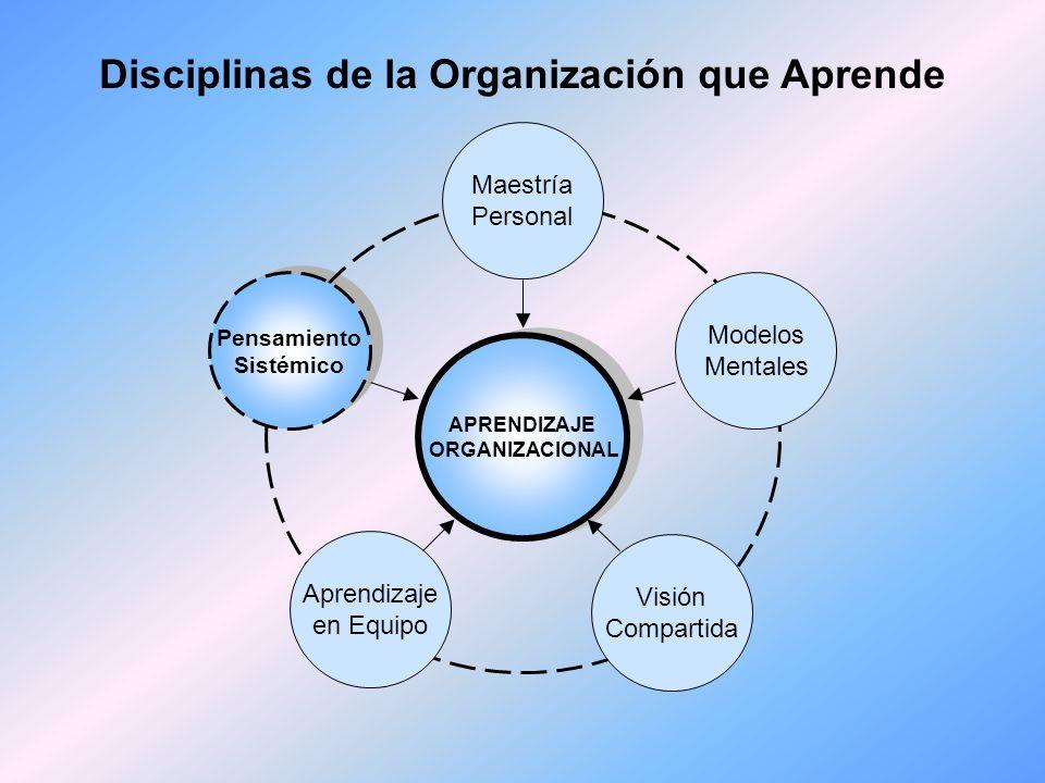 Disciplinas de la Organización que Aprende