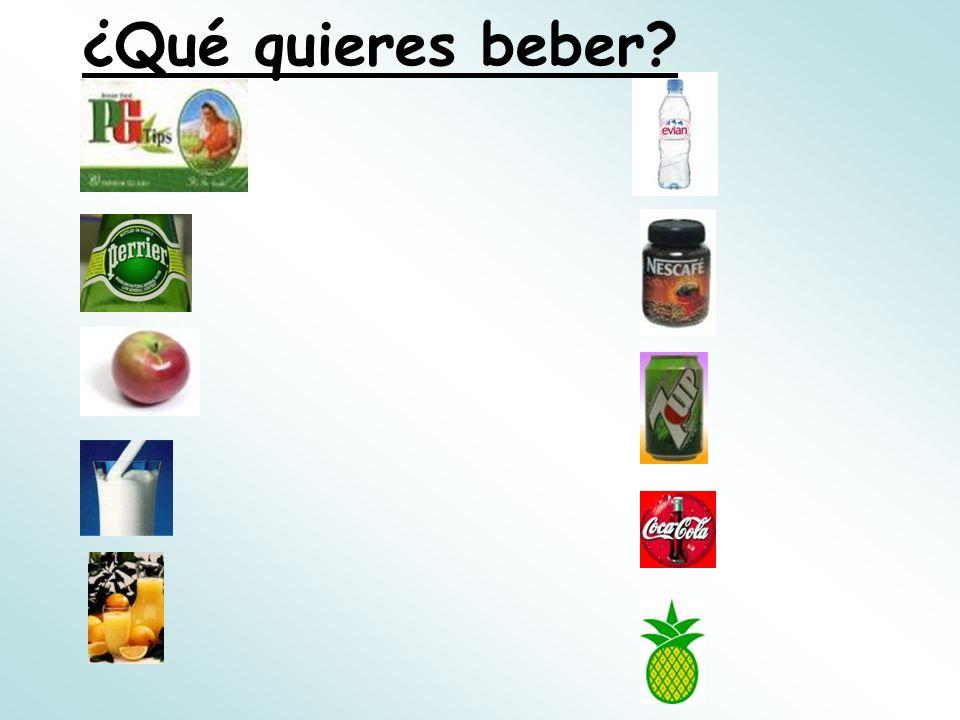 ¿Qué quieres beber
